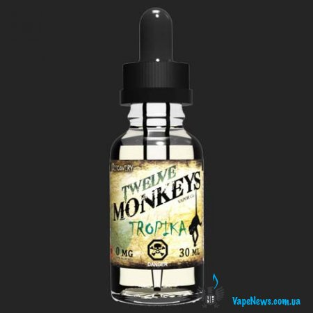 Рецепт жидкости Twelve Monkeys Vapor Co. Tropika