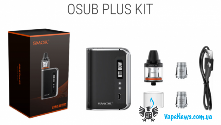 Обзор SMOK OSUB Plus Kit