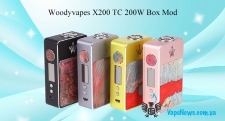 Обзор Woody Vapes Stabilized Wood X200