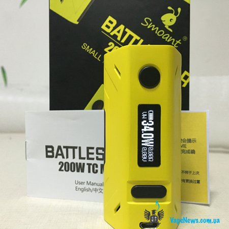 Обзор боксмода Smoant Battlestar 200W TC Box Mod