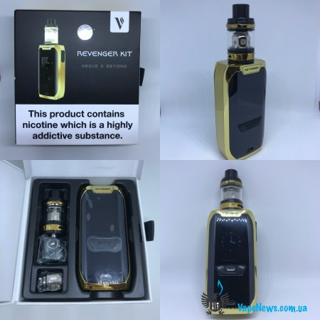 Обзор Vaporesso Revenger TC Kit with NRG Mini