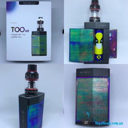 Обзор VOOPOO TOO 180W with UFORCE TC Kit