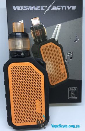 Обзор Wismec Active Kit 80W With Bluetooth Music