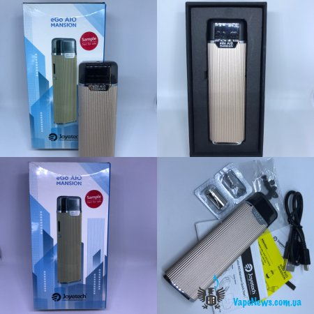 Обзор Joyetech eGo AIO Mansion Pod System Kit 1300mAh