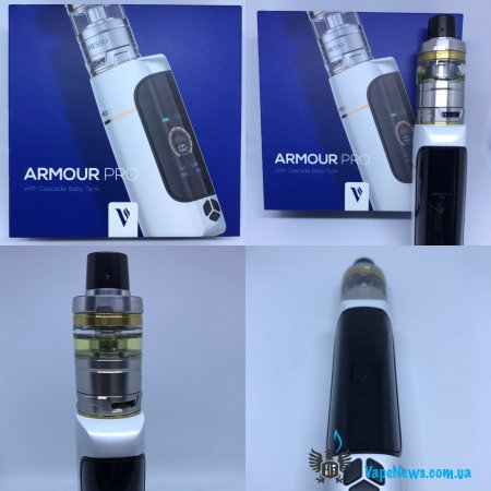 Обзор Vaporesso Armour Pro 100W TC Kit with Cascade Baby