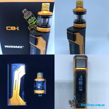 Обзор WISMEC CB-80 with Amor NS Pro TC Kit