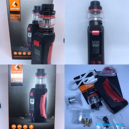 Обзор GeekVape Aegis Mini Kit 80W With Cerberus Tank 2200mAh
